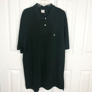 Brooks Brothers Men's Green Polo Size XL